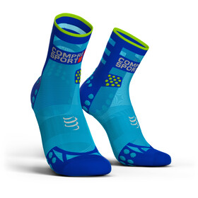 Compressport Pro Racing V3.0 Ultralight Run High Running Socks blue